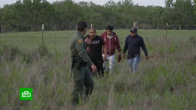 Наступление мигрантов на США: Техас начинает строить «стену Трампа».Байден, Мексика, США, граница, мигранты.НТВ.Ru: новости, видео, программы телеканала НТВ
