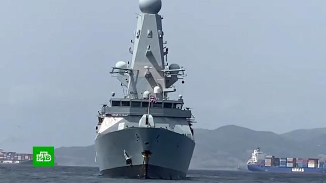 Британское Минобороны перестало отвечать на звонки после инцидента в Черном море.корабли и суда.НТВ.Ru: новости, видео, программы телеканала НТВ