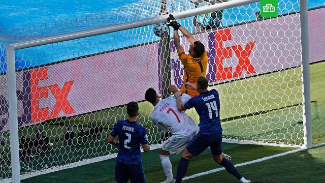 Евро-2020: Испания разгромила Словакию и помогла Украине выйти в плей-офф.Сборные Испании и Швеции вышли в плей-офф чемпионата Европы.футбол.НТВ.Ru: новости, видео, программы телеканала НТВ