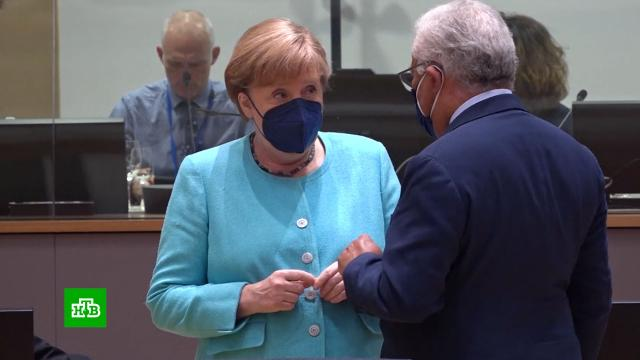 Лидеры Евросоюза отклонили идею Меркель провести саммит Россия — ЕС.Европейский союз, Макрон, Меркель, санкции.НТВ.Ru: новости, видео, программы телеканала НТВ