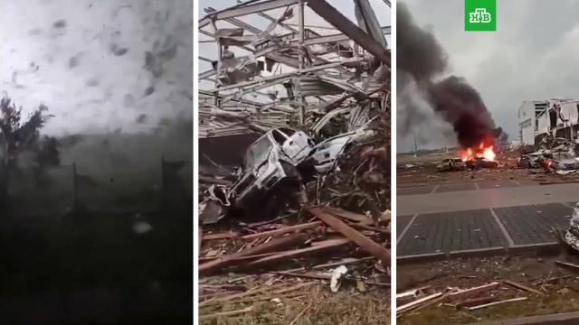 Смертоносный торнадо уничтожил несколько сел вЧехии.Чехия, смерть, стихийные бедствия, штормы и ураганы.НТВ.Ru: новости, видео, программы телеканала НТВ