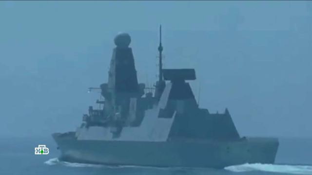 «Игра сигналов»: странности инцидента с британским эсминцем в Чёрном море