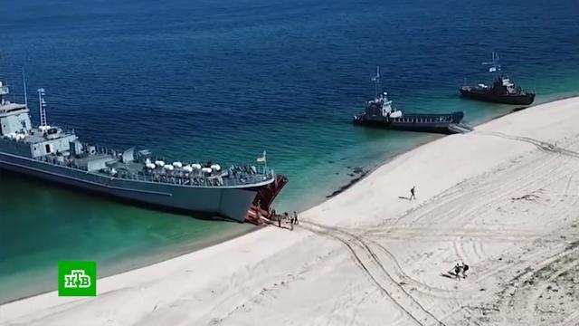 Демонстрация силы: в Чёрном море начались масштабные учения Украины и НАТО