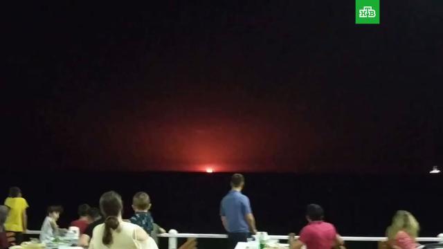 На добывающей платформе вКаспийском море прогремел взрыв.взрывы, пожары.НТВ.Ru: новости, видео, программы телеканала НТВ