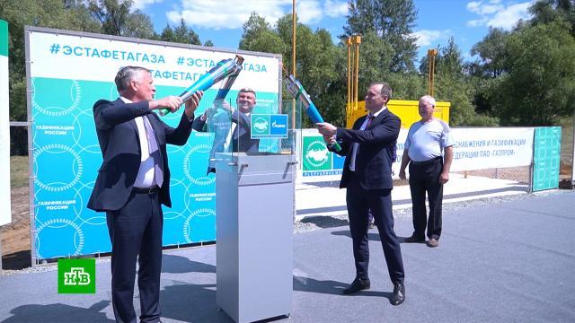 В Мордовии отпраздновали подключение поселка к магистральному газопроводу.Газпром, Мордовия, газ, газопровод.НТВ.Ru: новости, видео, программы телеканала НТВ