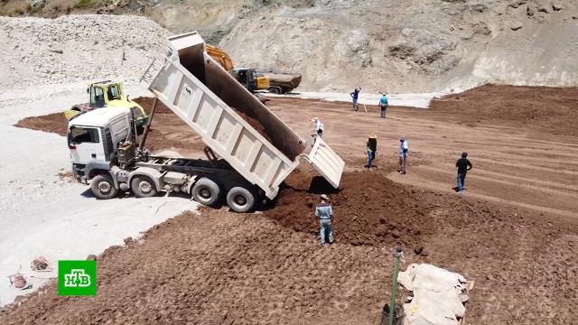 ВСирии возобновили строительство стратегически важной плотины.Сирия, строительство.НТВ.Ru: новости, видео, программы телеканала НТВ
