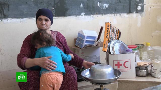 Российские военные помогли беженцам вСирии вернуться домой