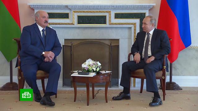 Лукашенко пожаловался Путину на жару и«мерзопакостные НКО».Белоруссия, Лукашенко, Путин, переговоры.НТВ.Ru: новости, видео, программы телеканала НТВ