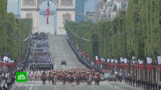 Путин поздравил Макрона сДнем взятия Бастилии.Макрон, Путин, Франция, торжества и праздники.НТВ.Ru: новости, видео, программы телеканала НТВ