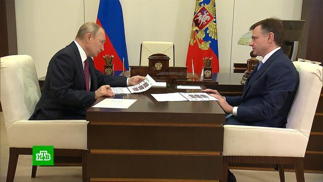 Глава ОАК сообщил Путину оразработке нескольких версий истребителя Су-57.МАКС, Путин, авиация, самолеты.НТВ.Ru: новости, видео, программы телеканала НТВ