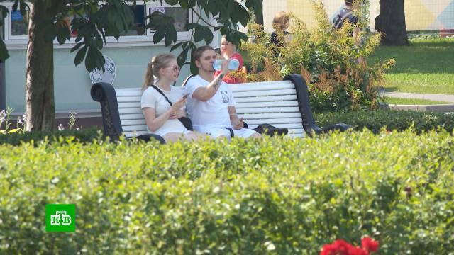 Москве предсказали «самый горячий день».Москва, жара, лето, погода, погодные аномалии.НТВ.Ru: новости, видео, программы телеканала НТВ