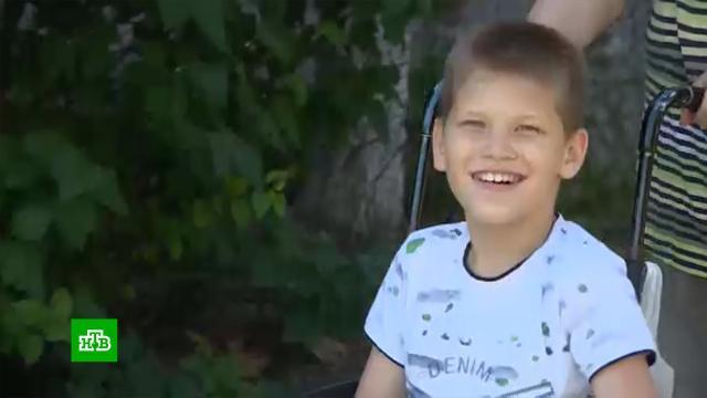 Страдающему ДЦП 13-летнему Илье нужны деньги на реабилитацию.SOS, благотворительность, болезни, дети и подростки, здоровье.НТВ.Ru: новости, видео, программы телеканала НТВ