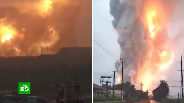 Мощный взрыв произошел на металлургическом заводе вКитае.Китай, взрывы, заводы и фабрики.НТВ.Ru: новости, видео, программы телеканала НТВ