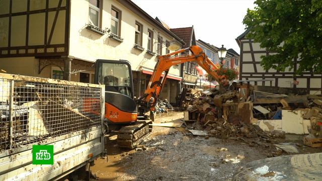 Небывалый потоп превратил любимый туристами немецкий город в свалку.Германия, наводнения, погодные аномалии.НТВ.Ru: новости, видео, программы телеканала НТВ