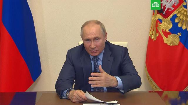 Путин напомнил о праве губернаторов вводить меры по вакцинации.Путин, болезни, вакцинация, коронавирус, эпидемия.НТВ.Ru: новости, видео, программы телеканала НТВ