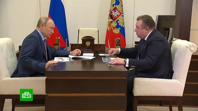 Путин провел совещание сглавой ОСК.корабли и суда, Путин, судостроение.НТВ.Ru: новости, видео, программы телеканала НТВ