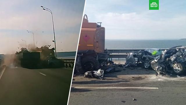 Пьяный водитель «КамАЗа» впечатал в грузовик легковушку с семьей.ДТП, Ульяновск, алкоголь.НТВ.Ru: новости, видео, программы телеканала НТВ