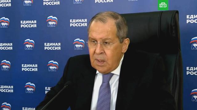 Лавров указал на попытки Запада создать пояс нестабильности вокруг России.Лавров.НТВ.Ru: новости, видео, программы телеканала НТВ