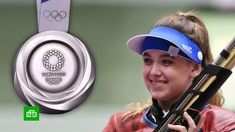 Россиянка Галашина завоевала серебро Олимпиады встрельбе