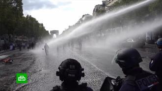 Европу захлестнули протесты против «ковидных» ограничений ипаспортов