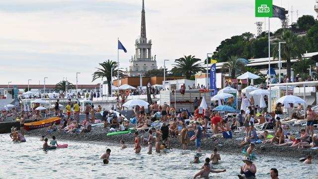 Пляжи в Сочи открыли после потопа.Пляжи Сочи снова открыты для купания после потопа..Краснодарский край, отдых и досуг, Сочи, туризм и путешествия, Чёрное море.НТВ.Ru: новости, видео, программы телеканала НТВ