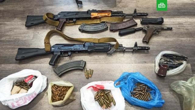 ФСБ задержала подпольных оружейников в25регионах.ФСБ, задержание, оружие.НТВ.Ru: новости, видео, программы телеканала НТВ