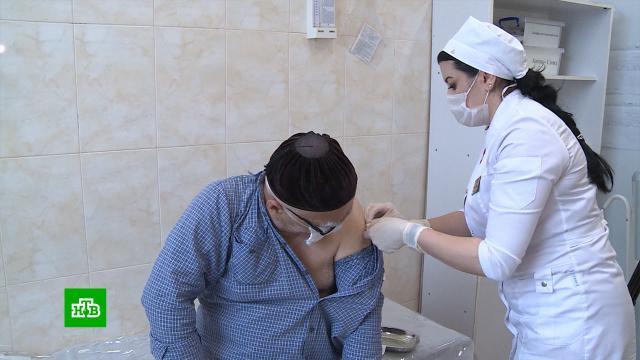 ВЧечне вакцинировали от коронавируса 60% взрослого населения.Чечня, вакцинация, коронавирус.НТВ.Ru: новости, видео, программы телеканала НТВ