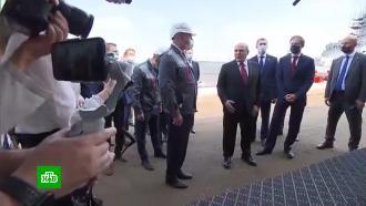 Мишустину в Комсомольске-на-Амуре показали заводы и недостроенную больницу.НТВ.Ru: новости, видео, программы телеканала НТВ