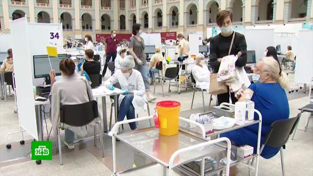 ВМоскве на вакцинацию пригласили онкобольных.вакцинация, здравоохранение, коронавирус, медицина, онкологические заболевания.НТВ.Ru: новости, видео, программы телеканала НТВ