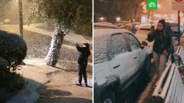 ВБразилии выпал снег.Бразилия, погода.НТВ.Ru: новости, видео, программы телеканала НТВ