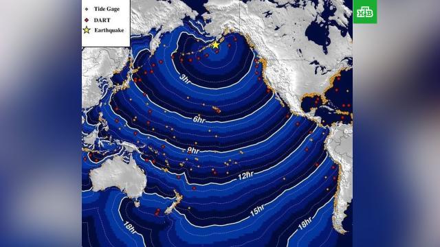 После мощного землетрясения уберегов Аляски объявили угрозу цунами.Аляска, землетрясения, цунами.НТВ.Ru: новости, видео, программы телеканала НТВ
