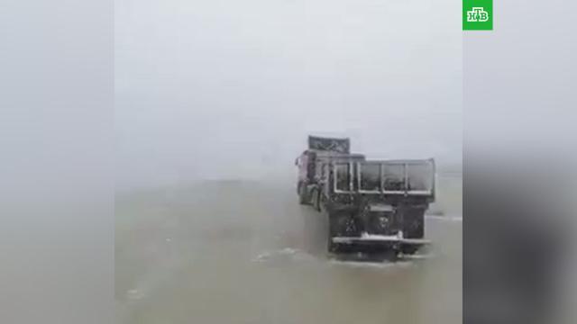 ВМагаданской области выпал снег.Магаданская область, лето, погода, снег.НТВ.Ru: новости, видео, программы телеканала НТВ