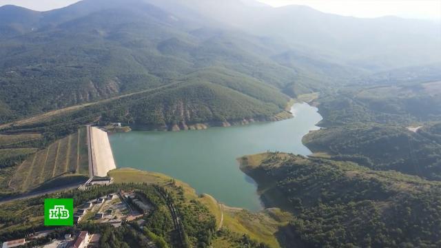 Летние дожди заполнили крымские водохранилища.Крым, водоснабжение.НТВ.Ru: новости, видео, программы телеканала НТВ