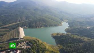 Летние дожди заполнили крымские водохранилища