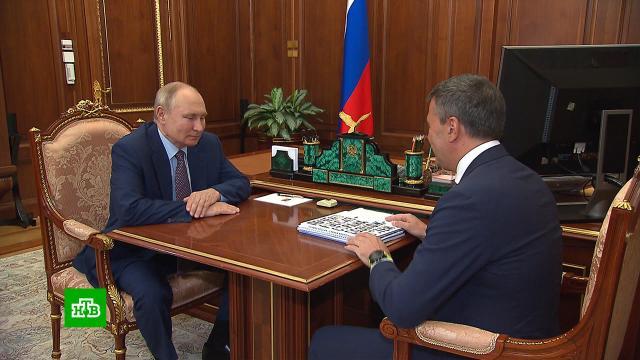 Глава организации «Россия — страна возможностей» доложил Путину о достигнутых успехах.Путин.НТВ.Ru: новости, видео, программы телеканала НТВ