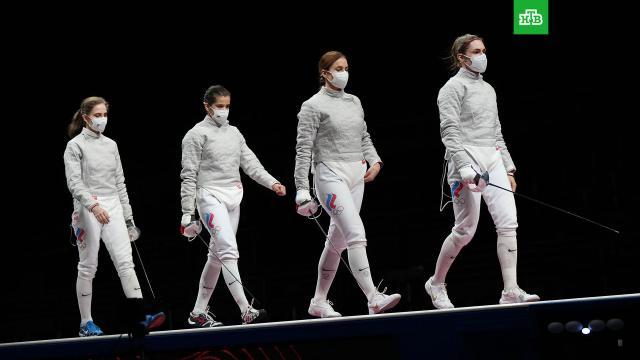 Российские саблистки победили Францию вфинале ОИ-2020 ивыиграли золотые медали.Олимпиада, спорт.НТВ.Ru: новости, видео, программы телеканала НТВ
