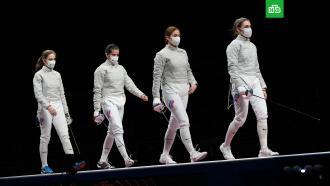 Российские саблистки победили Францию вфинале <nobr>ОИ-2020</nobr> ивыиграли золотые медали