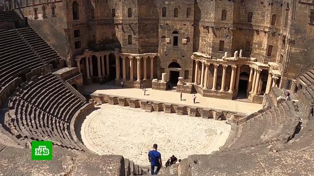 ВСирии началось восстановление древней цитадели Алеппо.Сирия, реконструкция и реставрация.НТВ.Ru: новости, видео, программы телеканала НТВ