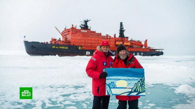 250 часов на льдине: Фёдор Конюхов вернулся из экспедиции на Северный полюс.Конюхов, Северный полюс, туризм и путешествия.НТВ.Ru: новости, видео, программы телеканала НТВ