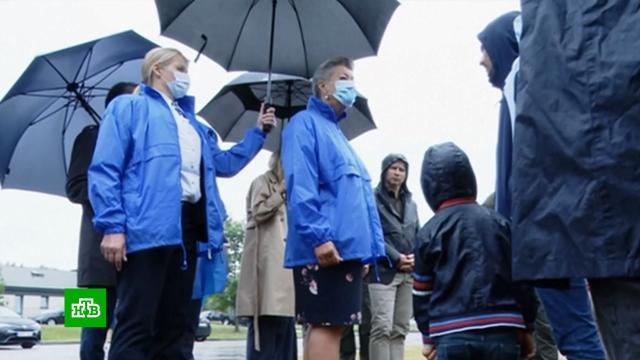Беспорядки произошли в пункте размещения нелегалов в Литве.Литва, беспорядки, мигранты, беженцы.НТВ.Ru: новости, видео, программы телеканала НТВ