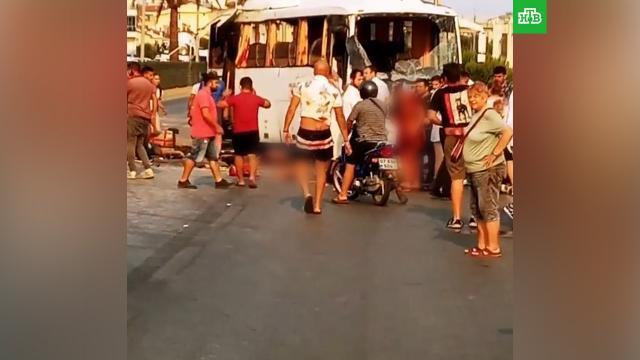 Автобус сроссиянами разбился вТурции.ДТП, Турция, автобусы, туризм и путешествия.НТВ.Ru: новости, видео, программы телеканала НТВ