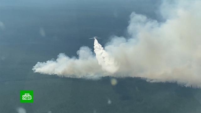 ВРоссии лесными пожарами охвачены больше миллиона гектаров.Якутия, лесные пожары.НТВ.Ru: новости, видео, программы телеканала НТВ