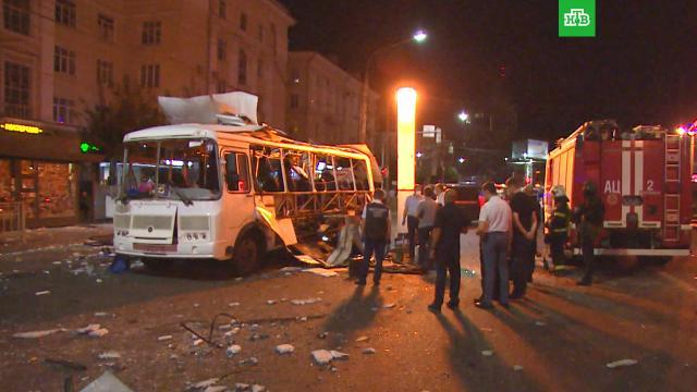 Растет число пострадавших при взрыве вавтобусе вВоронеже