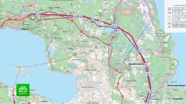 Эксперты обсуждают, где и как окольцевать Петербург второй раз