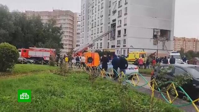 Пять человек не выходят на связь после взрыва вНогинске.Московская область, взрывы газа.НТВ.Ru: новости, видео, программы телеканала НТВ