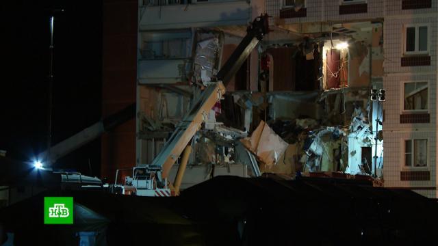 Под завалами дома вНогинске нашли погибшую девочку.Московская область, взрывы газа.НТВ.Ru: новости, видео, программы телеканала НТВ