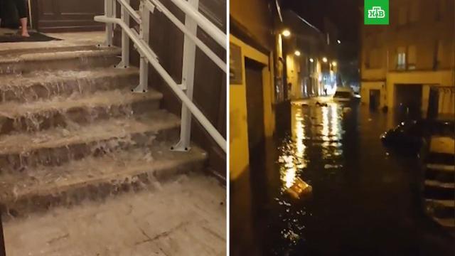 Во Франции началась эвакуация населения из подтопленных районов.Франция, наводнения, стихийные бедствия.НТВ.Ru: новости, видео, программы телеканала НТВ