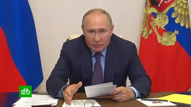Путин похвалил «Единую Россию» за «народную программу» иработу справительством.Единая Россия, Путин, выборы.НТВ.Ru: новости, видео, программы телеканала НТВ