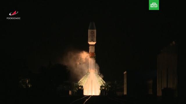 «Роскосмос» успешно вывел на орбиту 34спутника OneWeb.Роскосмос, космос, ракеты, спутники.НТВ.Ru: новости, видео, программы телеканала НТВ