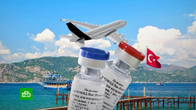 Турция отказалась принимать привившихся «ЭпиВакКороной» и«КовиВаком» россиян.Турция, коронавирус, туризм и путешествия.НТВ.Ru: новости, видео, программы телеканала НТВ